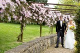 Bride & Groom in Grounds - Evolve Photography