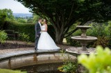 Bride & Groom in Grounds - Isabel Maria Photography