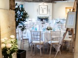 Wedding Breakfast Setting - Dan Rayner Photography