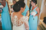 Catherine Blades - Bespoke Lace Back Wedding Dress