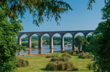Brunel's Viaduct overlooking the Pampas Grass