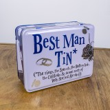 Best Mans Tin