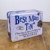 Best Mans Tin