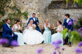 Bridal party at Caswell House